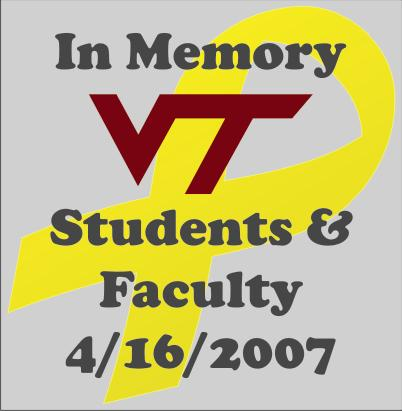 In Memory of Virginia Tech Students and Faculty